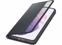 Samsung telefoonhoesje S21+ Smart Clear View (Phantom Black)