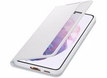 Samsung telefoonhoesje S21+ Smart Clear View (Phantom Gray)