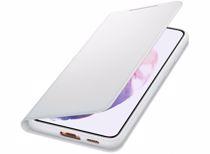 Samsung telefoonhoesje S21+ Smart LED View (Phantom Gray)