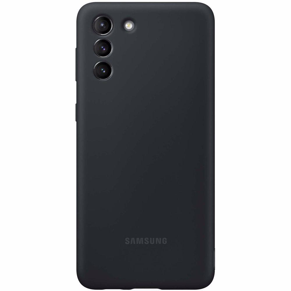 Samsung telefoonhoesje S21+ Silicone (Phantom Black)
