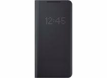Samsung telefoonhoesje S21 Ultra Smart LED View (Phantom Black)