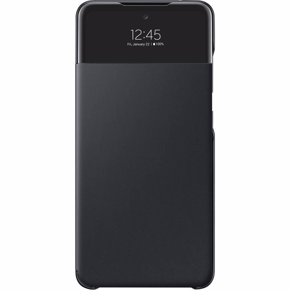 Samsung telefoonhoesje A52 Wallet Cover + View (Zwart)