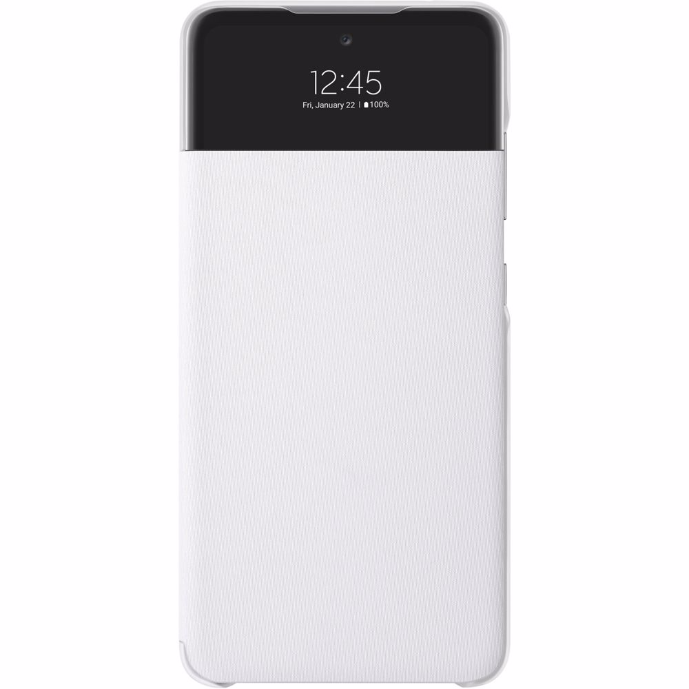 Samsung telefoonhoesje A52 Wallet Cover + View (Wit)