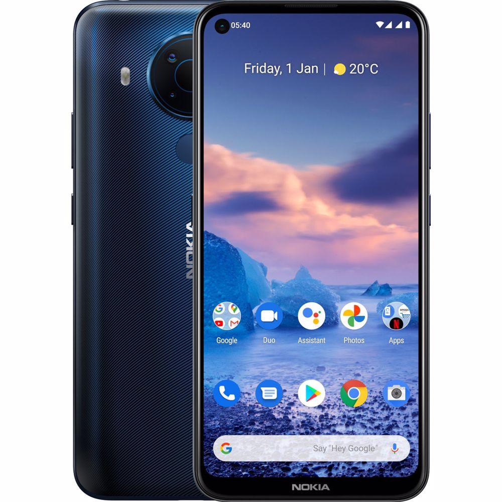 Nokia smartphone 5.4 4GB/64GB (Blauw)