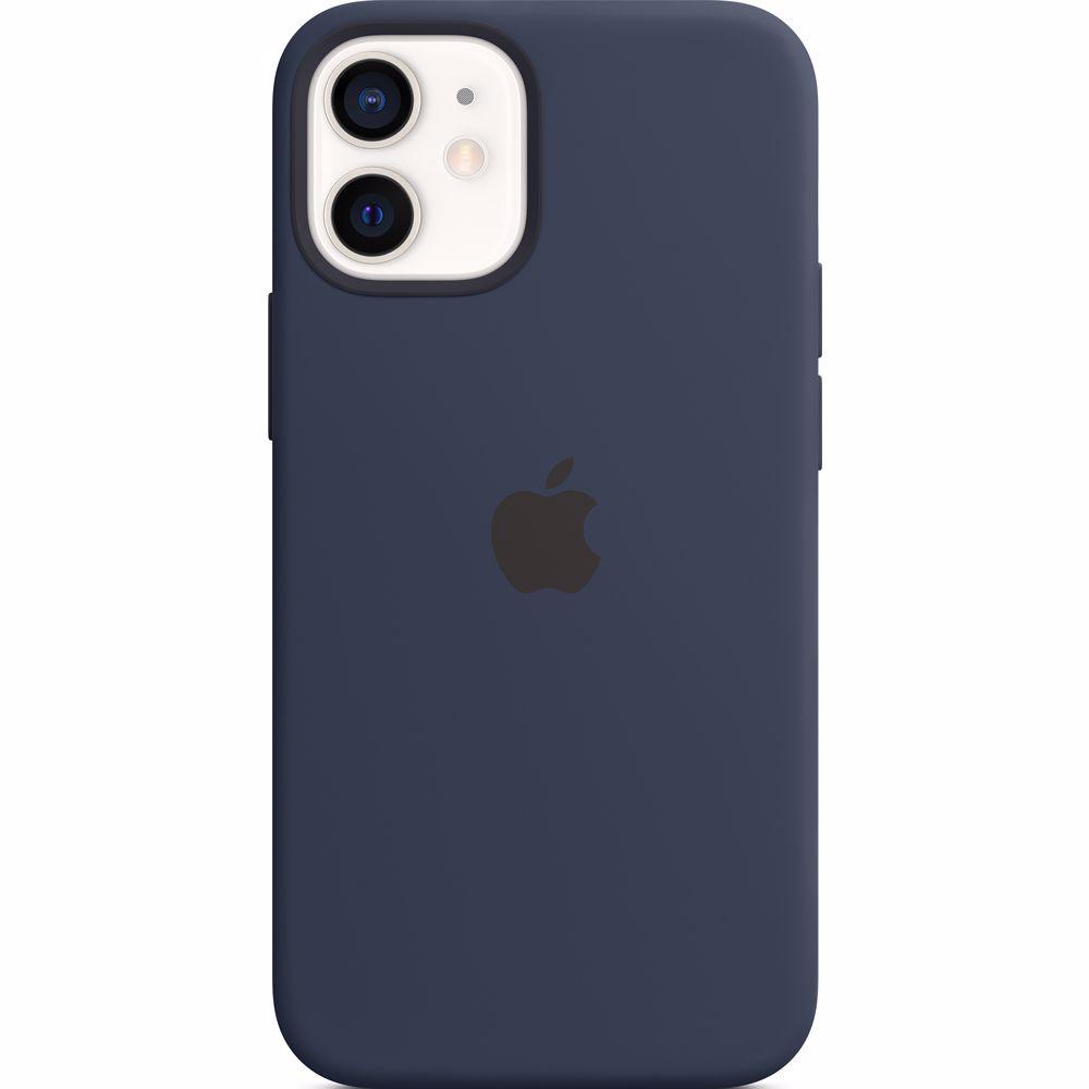 Apple siliconen telefoonhoes iPhone 12 Mini (Donkerblauw)