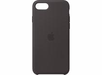 Apple siliconen telefoonhoesje iPhone SE (Zwart)
