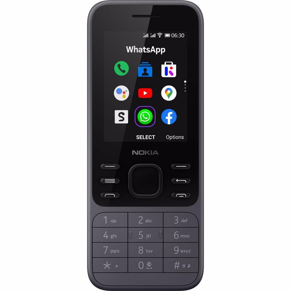 Nokia mobiele telefoon 6300 (Grijs)