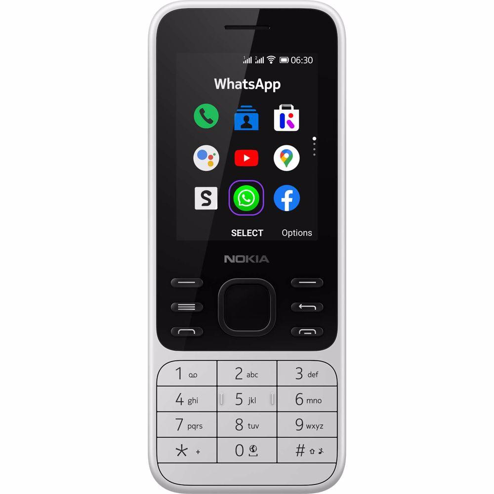 Nokia mobiele telefoon 6300 (Wit)