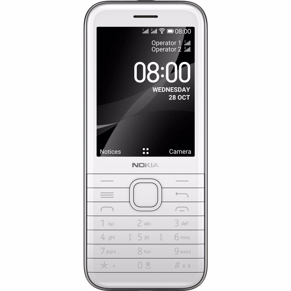 Nokia mobiele telefoon 8000 (Wit)