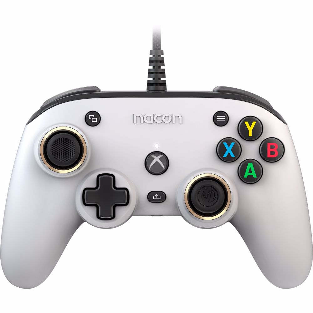 Nacon Pro Compact Controller Xbox One/Series X|S/PC (Wit)