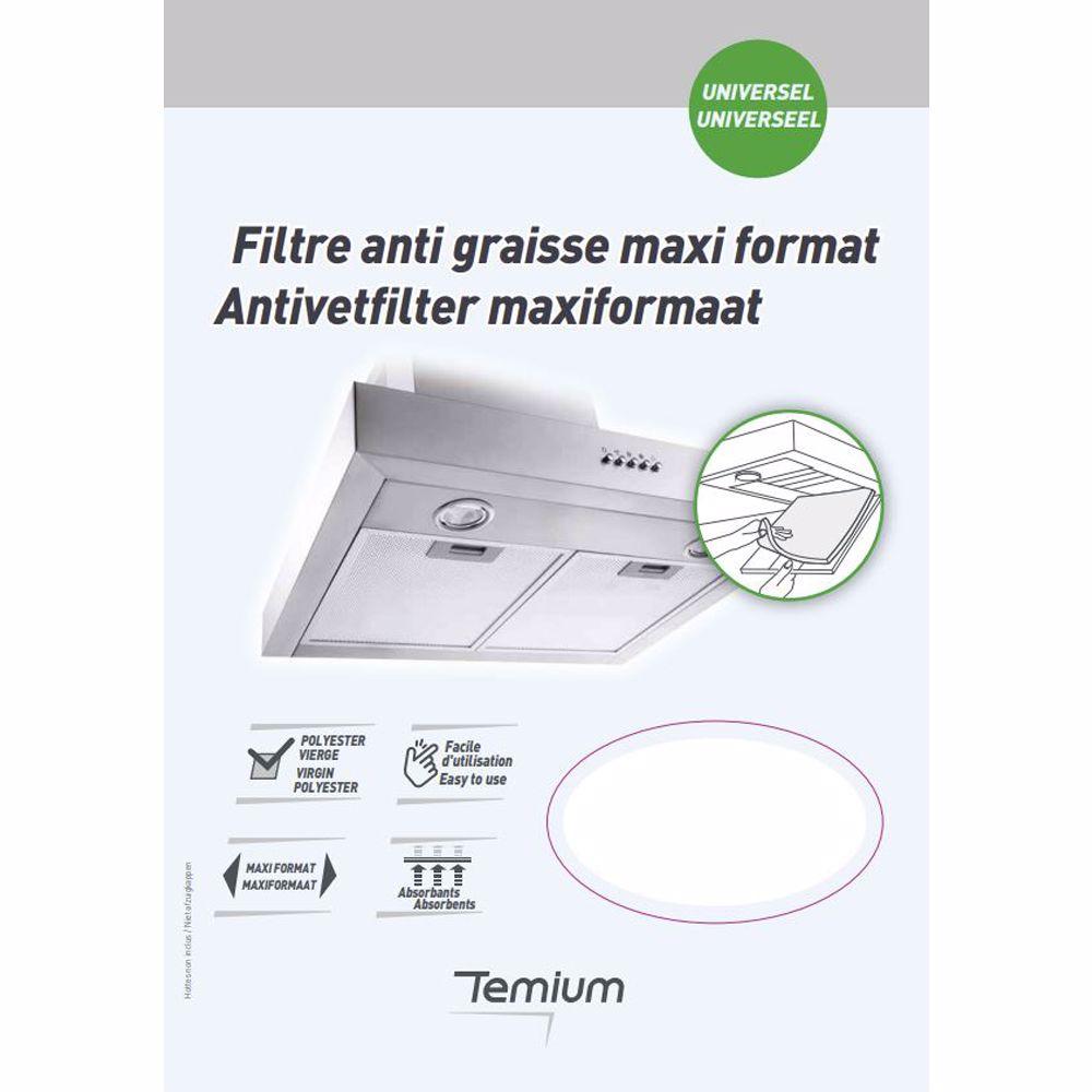 Temium koolstoffilter XL antivet