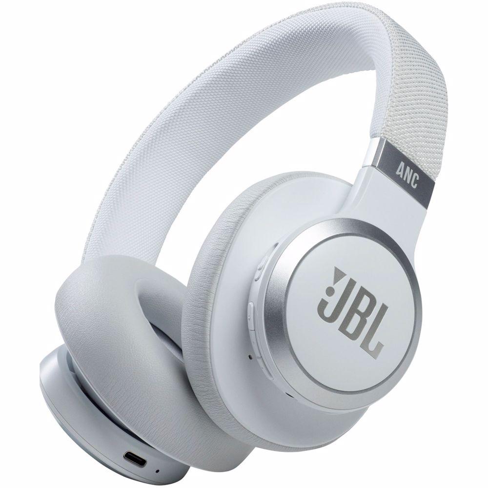 JBL draadloze koptelefoon JBL Live 660NC (Wit)