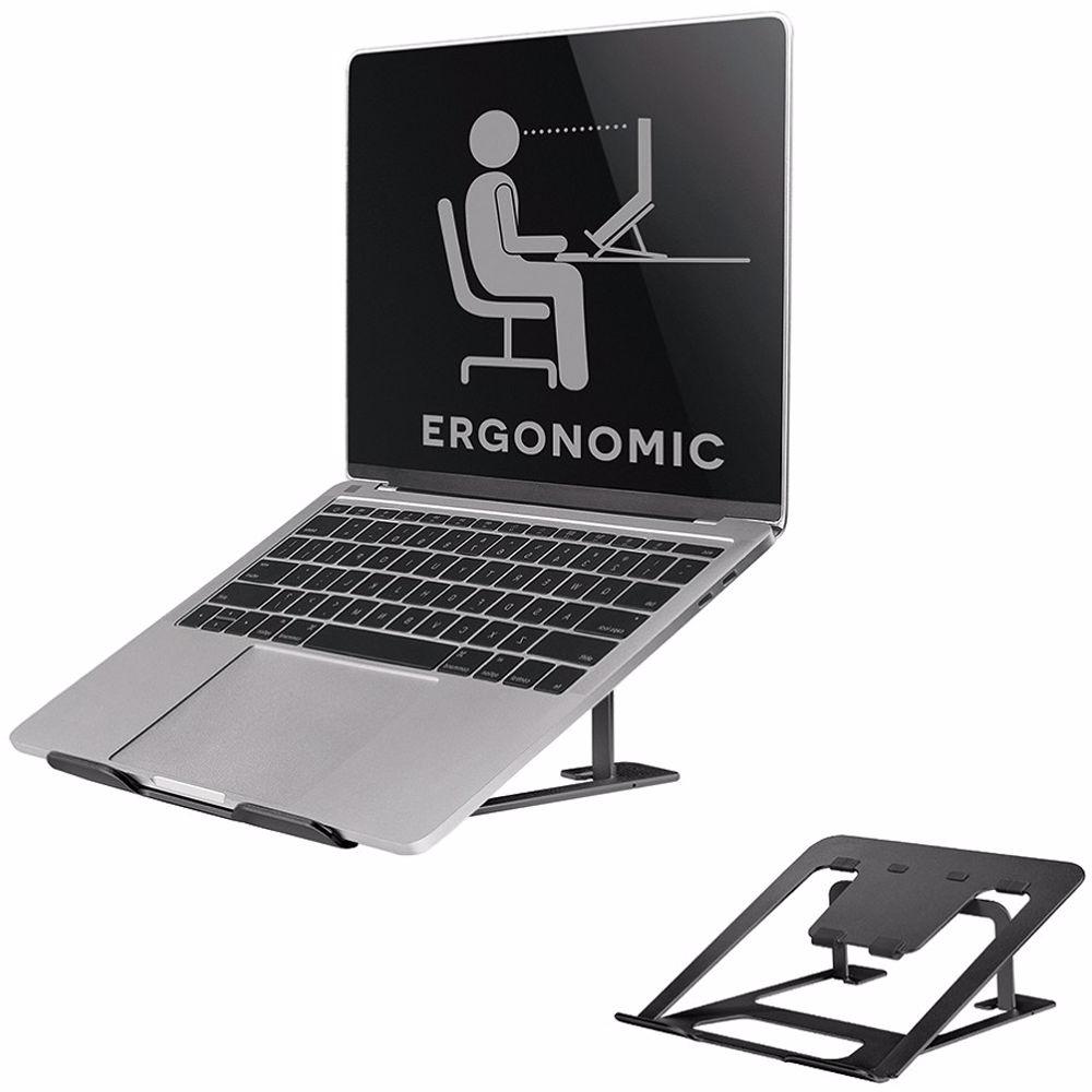 Newstar laptopstandaard NSLS085BLACK (Zwart)