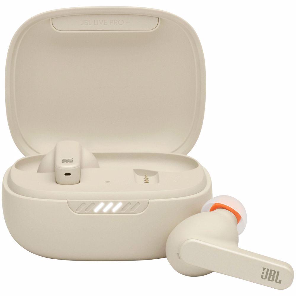 JBL draadloze in-ear oordoppen Live Pro+ TWS (Beige)
