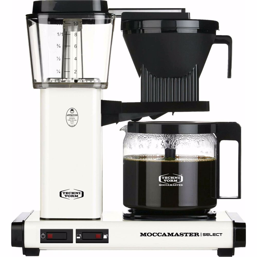 Moccamaster koffiezetapparaat KBG Select (Off-White)