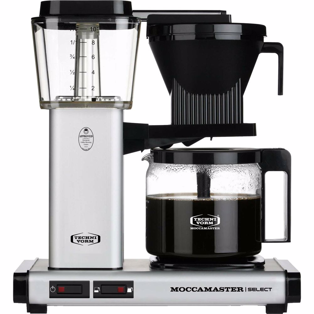 Moccamaster koffiezetapparaat KBG Select (Mat Zilver)