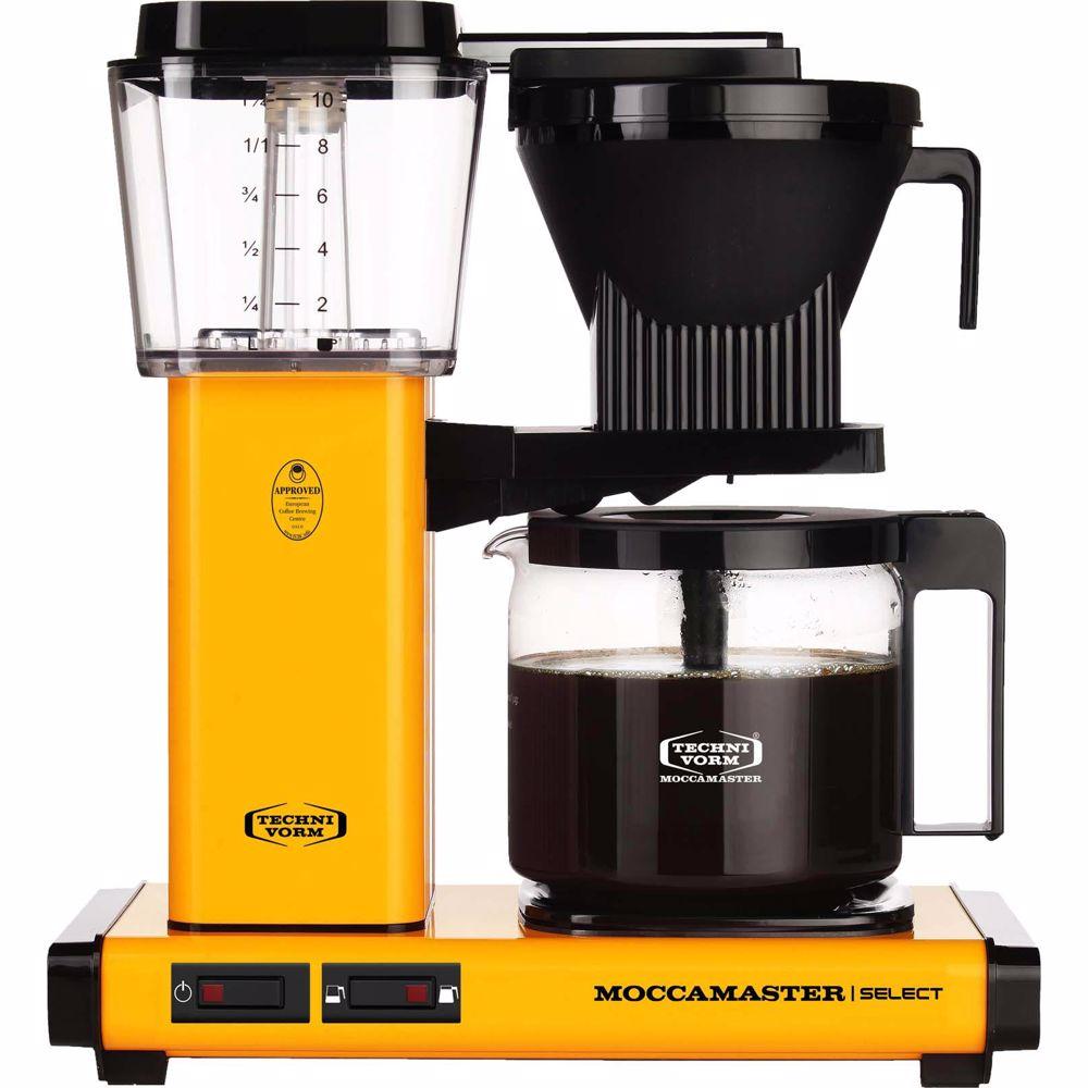Moccamaster koffiezetapparaat KBG Select (Yellow pepper)