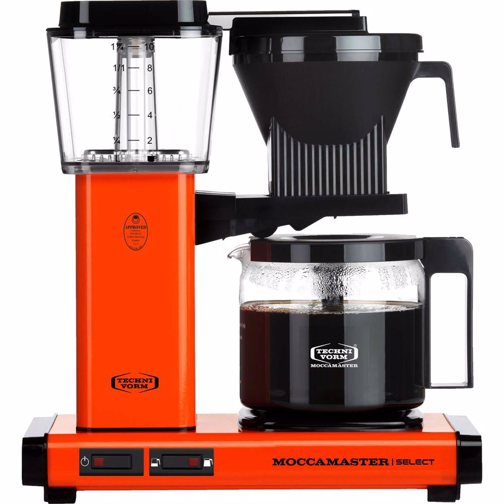 Moccamaster koffiezetapparaat KBG Select (Oranje)