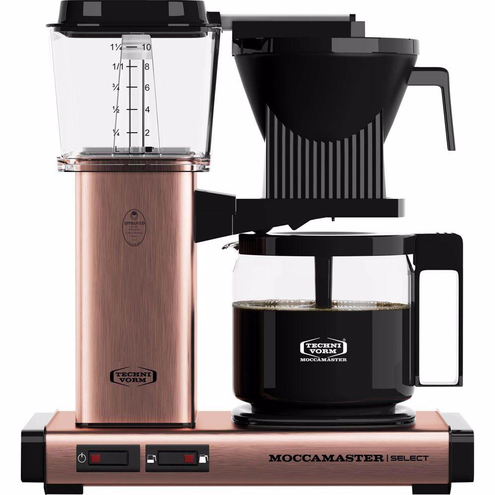 Moccamaster koffiezetapparaat KBG Select (Koper)