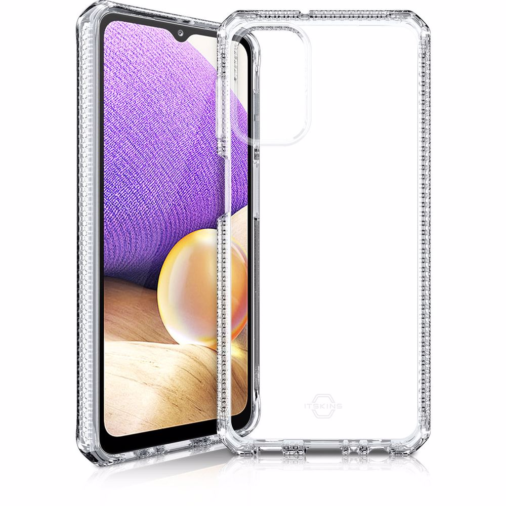 ITSkins telefoonhoesje Samsung A32 5G Spectrum Clear Cover