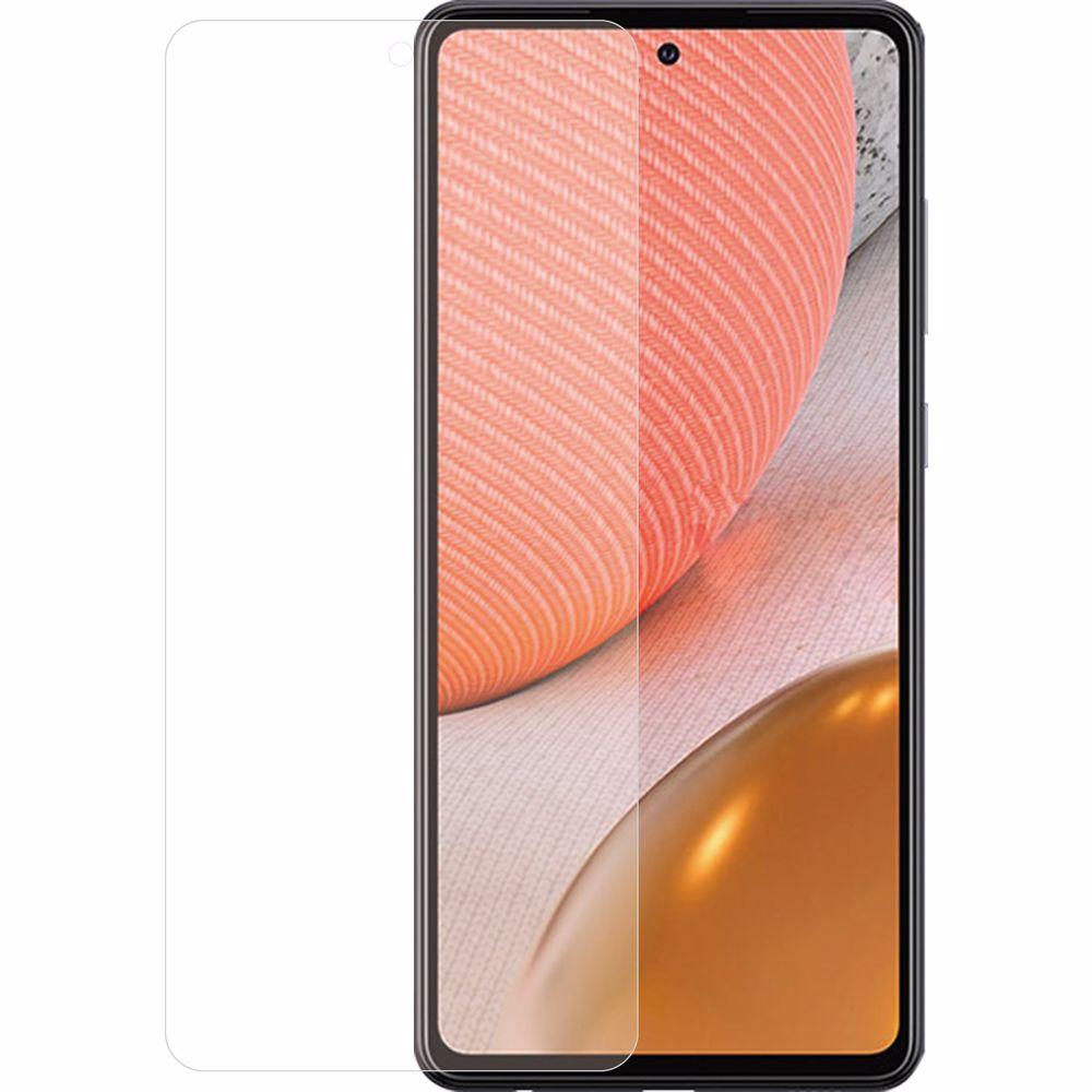 Azuri screenprotector Samsung A72 Glas (Transparant)