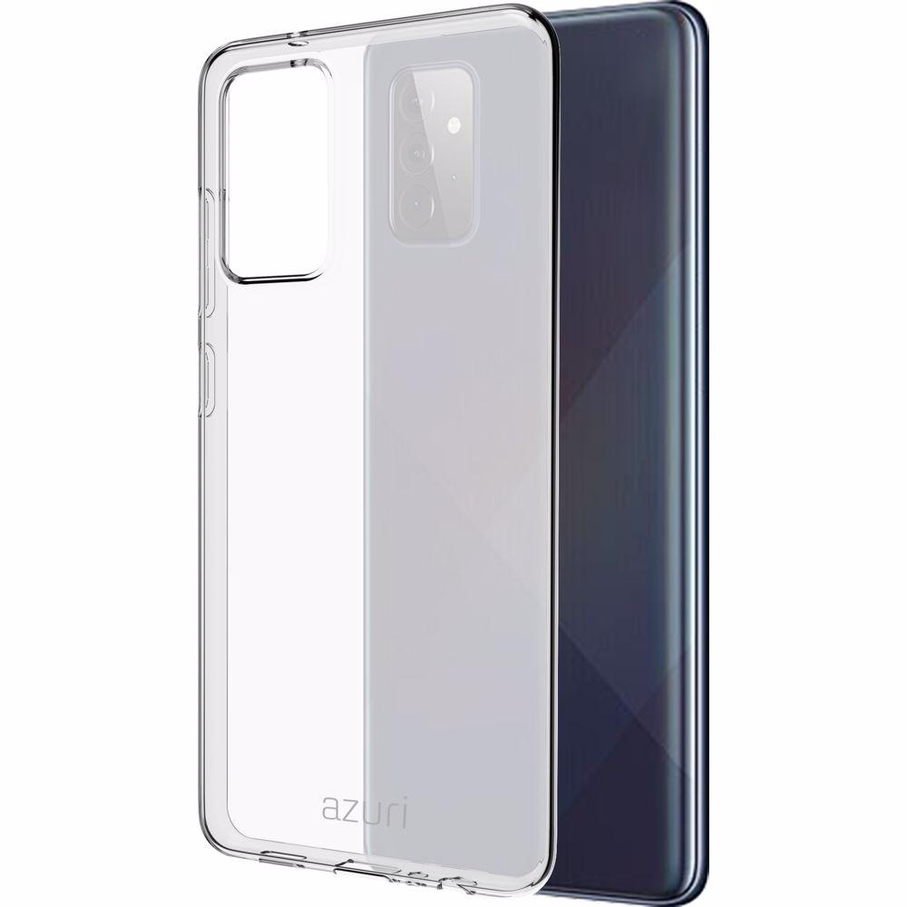 Azuri telefoonhoesje Samsung Galaxy A72 TPU (Transparant)