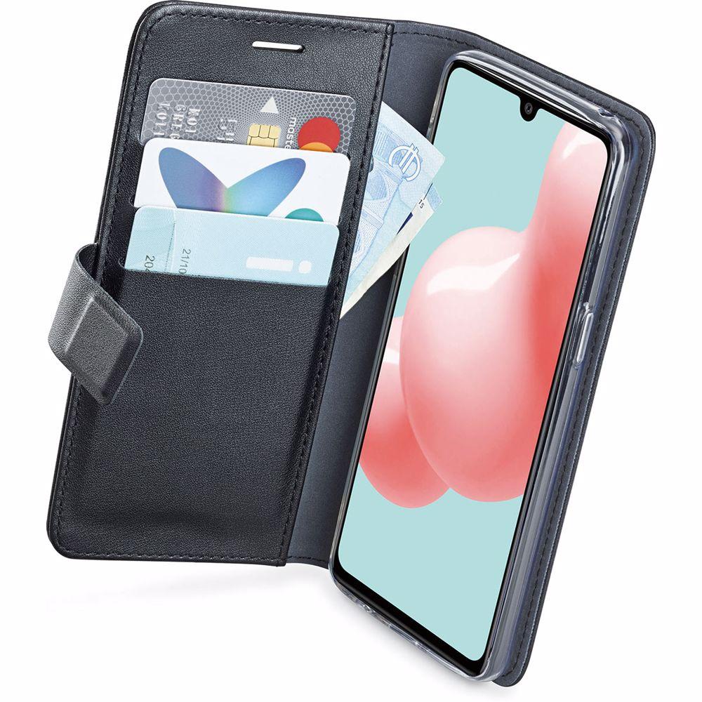 Azuri telefoonhoesje Samsung Galaxy A32 5G Wallet Case (Zwart)