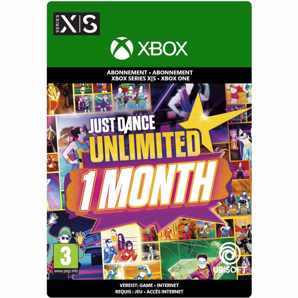 Just Dance Unlimited (1 Maand) Xbox One/Series X|S - download