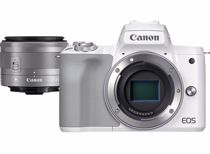 Canon systeemcamera EOS M50 MARK II M15-45 S WIT