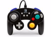 PowerA Wired Controller Gamecube Style Switch (Zwart)