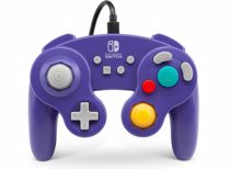PowerA Wired Controller Gamecube Style Switch (Paars)