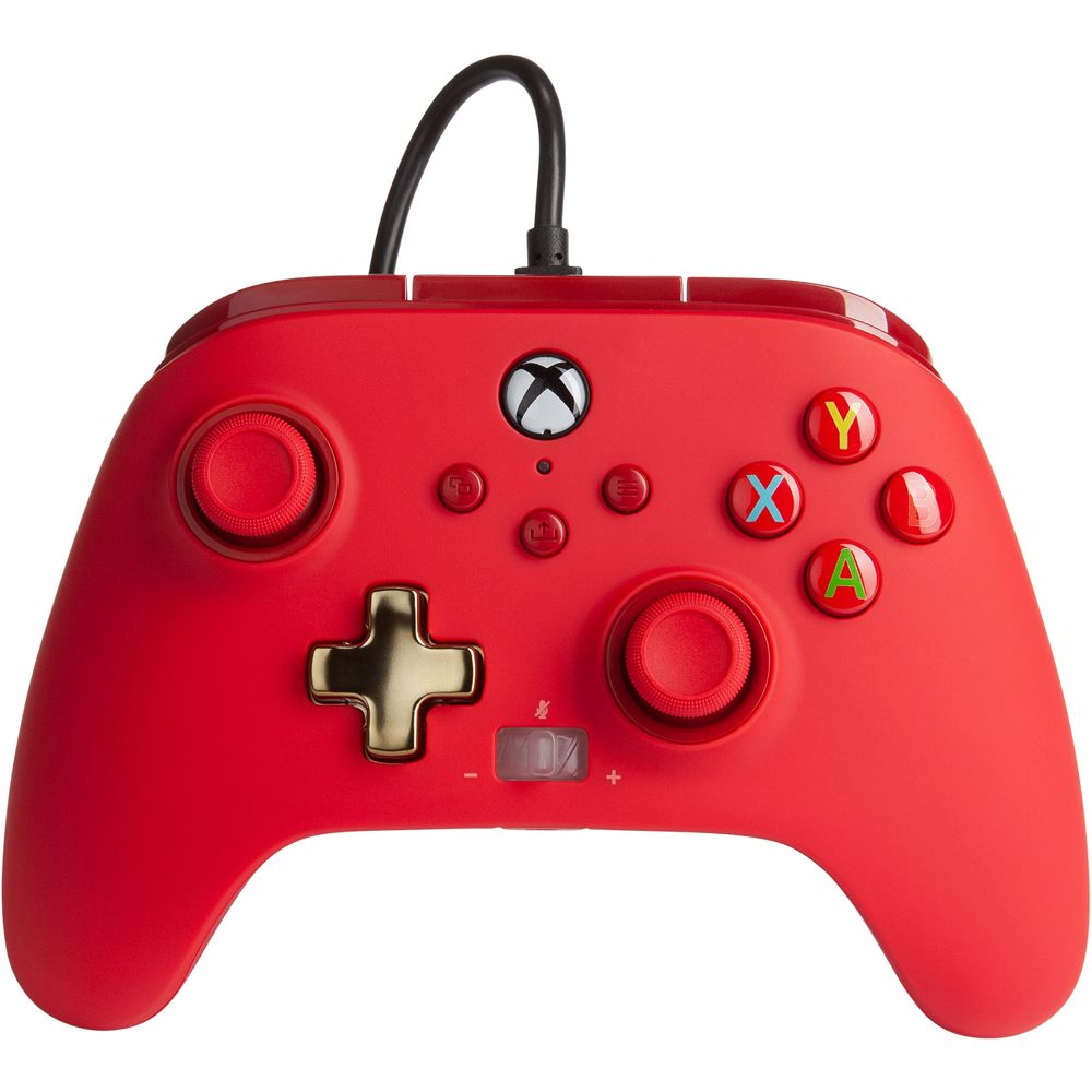 PowerA Enhanced Wired Controller Xbox (Rood)