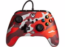 PowerA Enhanced Wired Controller Xbox (Rood camouflage)