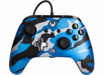 PowerA Enhanced Wired Controller Xbox (Blauw camouflage)