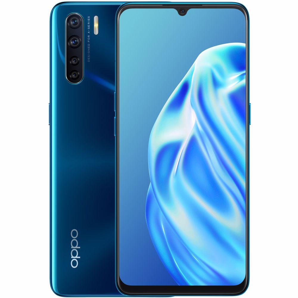 OPPO smartphone A91 (Blauw)