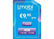 L-Mobi prepaid simkaart 1 maand 4GB