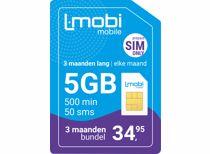 L-Mobi prepaid simkaart 3 maanden 5GB