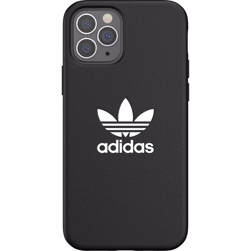 Adidas telefoonhoesje iPhone 12/12 Pro TPU (Zwart)
