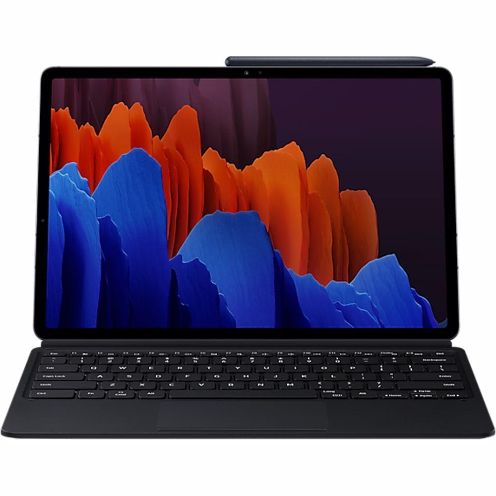 Samsung tablet toestenbord/cover S7+ (Zwart)