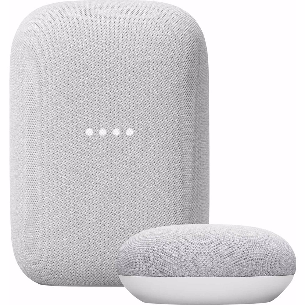 Google Nest Audio + Nest Mini (Wit)
