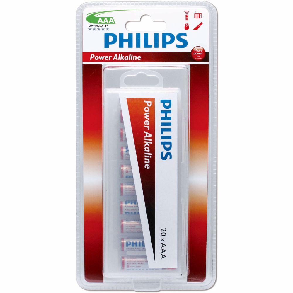 Philips AAA-batterijen LR3 (20 st)