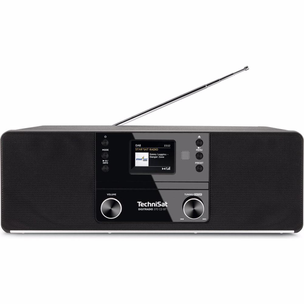 Technisat DAB radio DigitRadio 370 CD BT (Zwart)