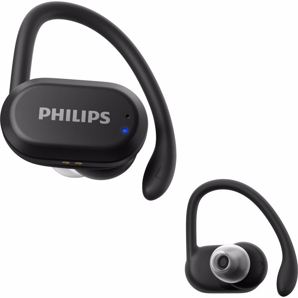 Philips sport oortjes TAA7306BK/00 (Zwart)
