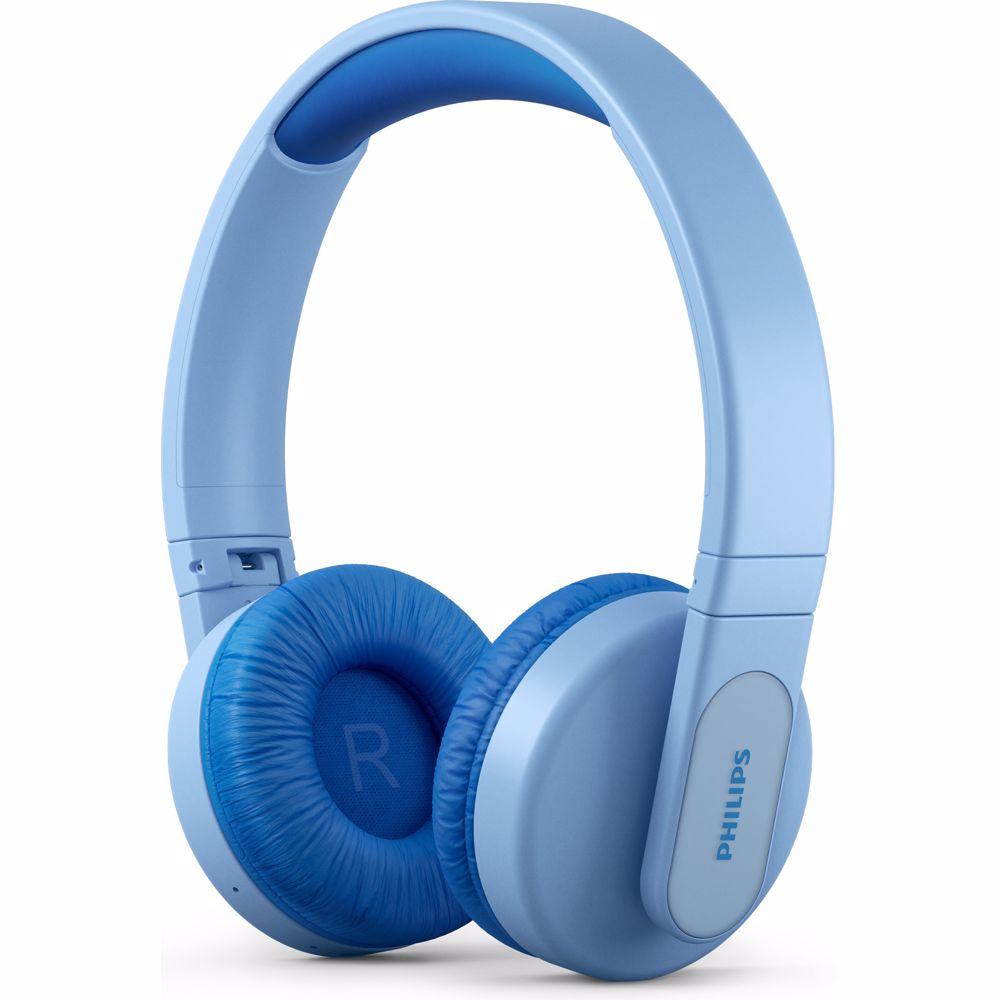 Philips draadloze kinder hoofdtelefoon TAK4206BL/00 (Blauw)