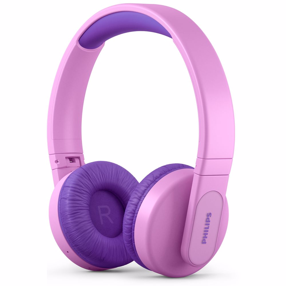 Philips draadloze kinder hoofdtelefoon TAK4206PK/00 (Roze)