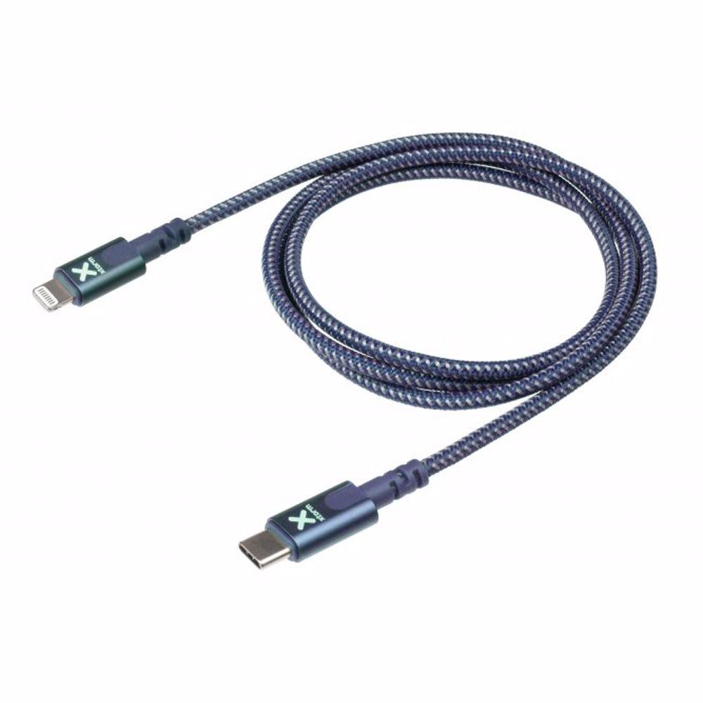 Xtorm telefoonkabel USB-C naar Lightning 1 meter (Blauw)