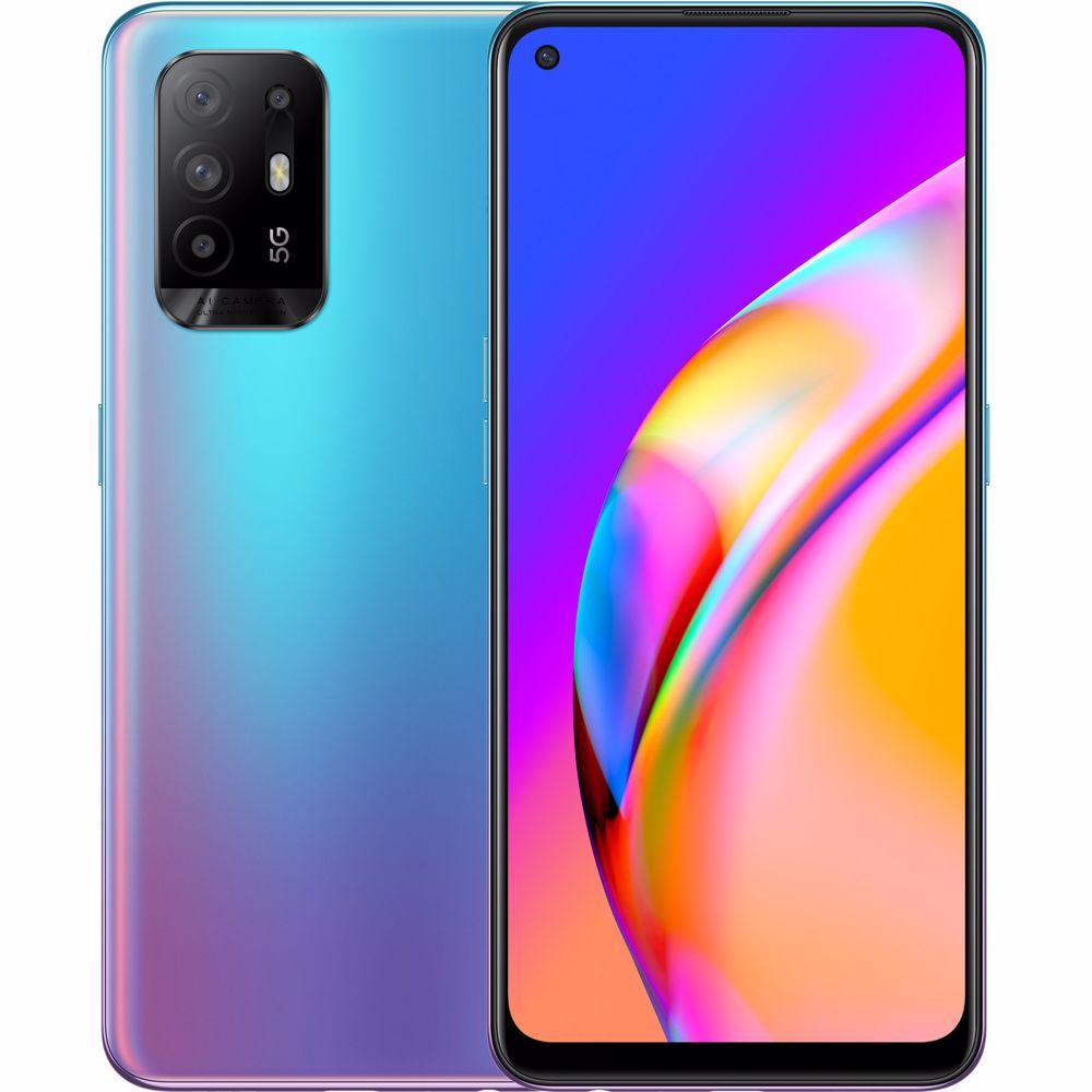 OPPO smartphone A94 5G (Blauw)