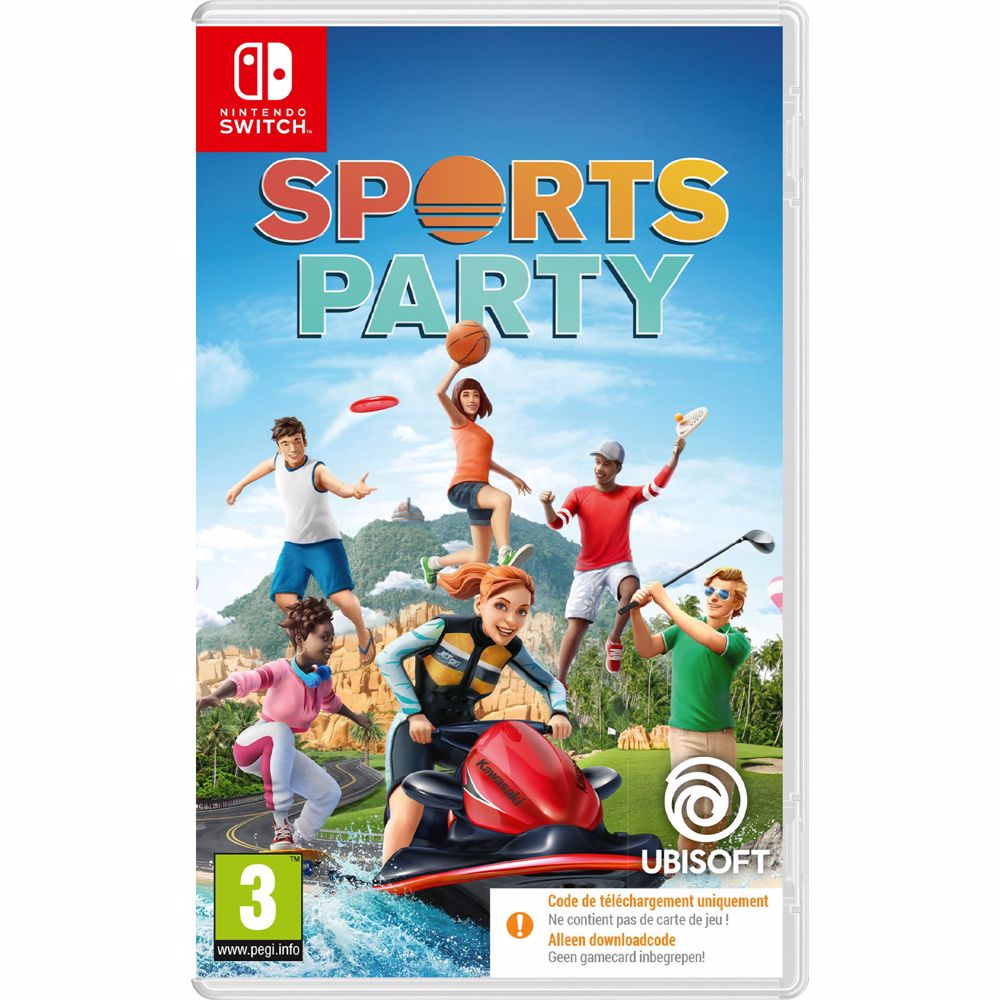 Sports Party Switch (Code in a box)