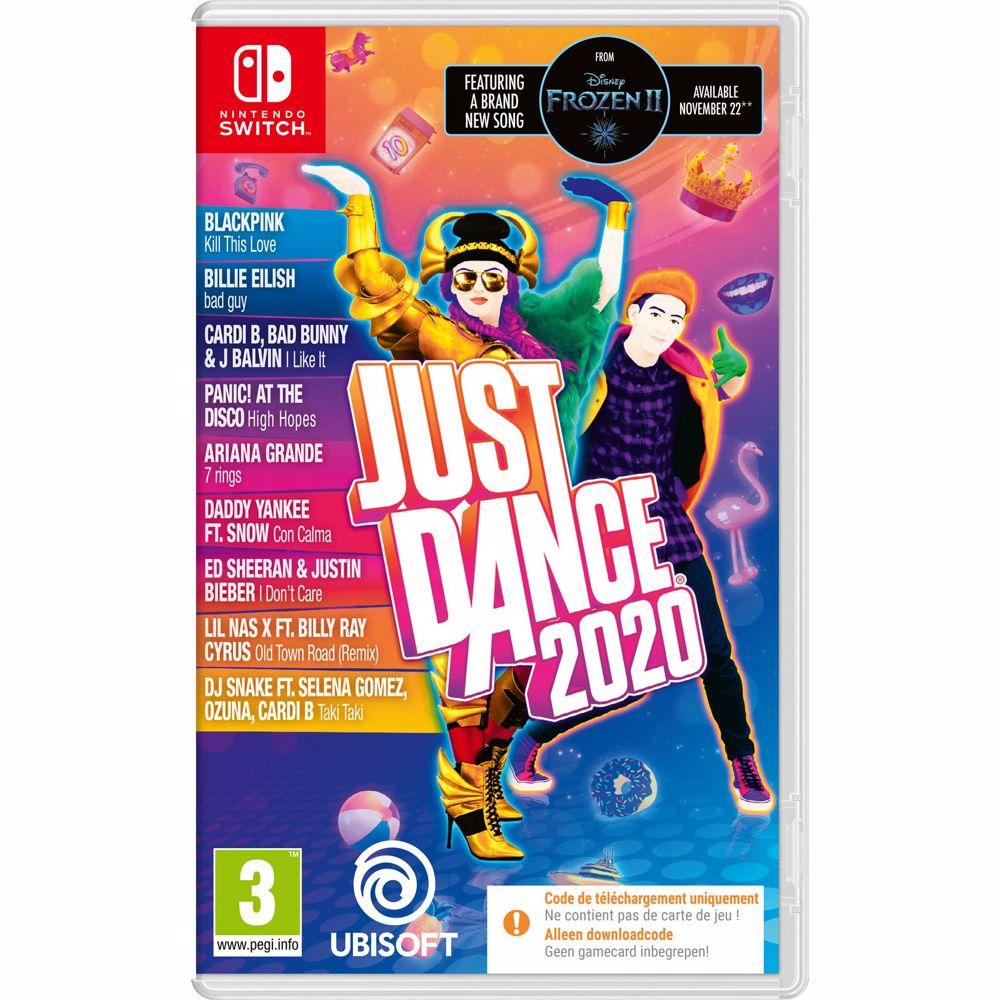 Just Dance 2020 (Code in a box) Switch