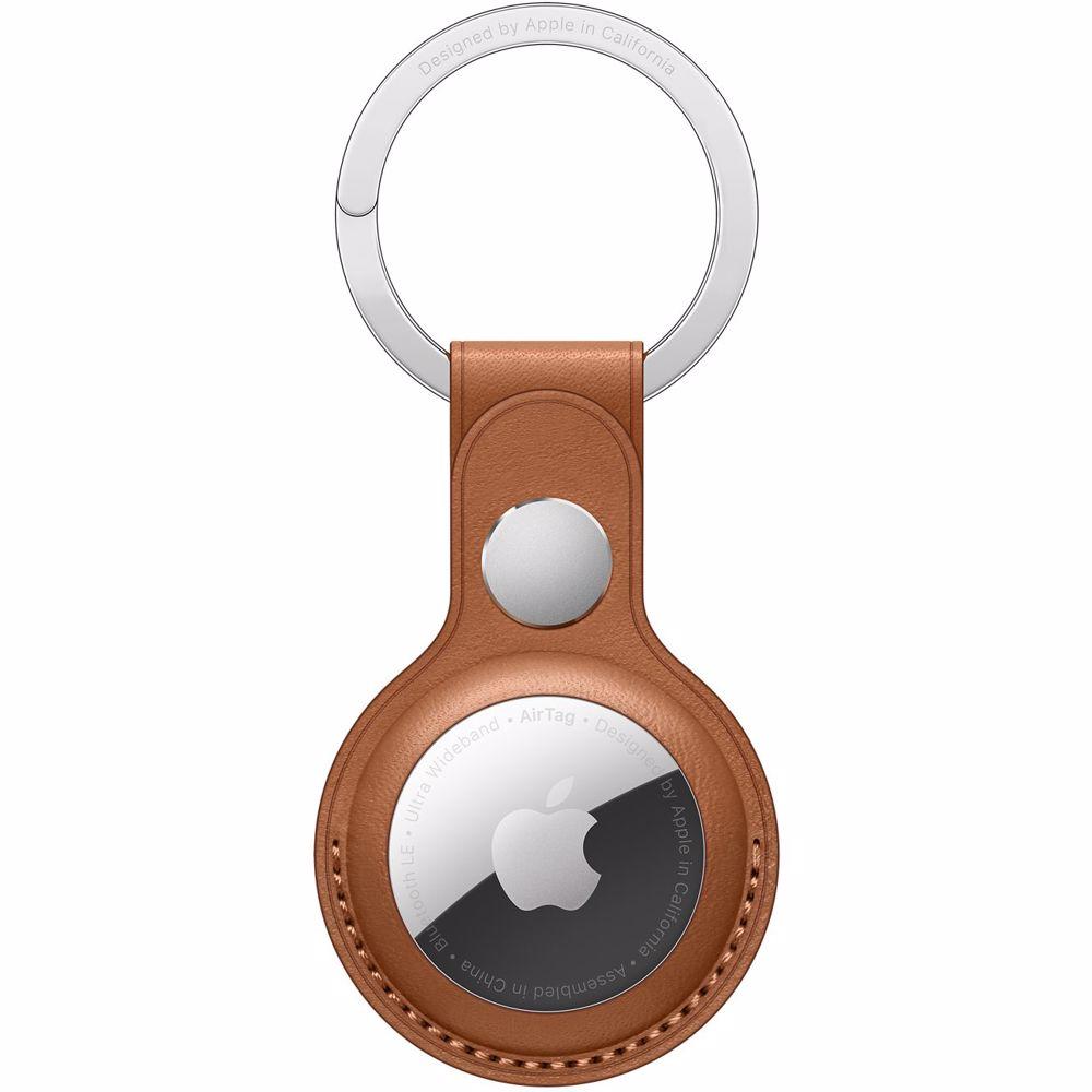 Apple accessoire AirTag sleutelhanger (Bruin)